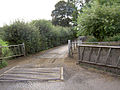 Gates to Tyers Hall farm and cattle grid. - geograph.org.uk - 524210.jpg