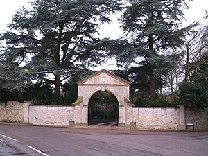 Leadenham House - The Gate