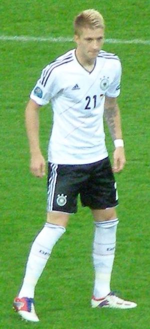 Marco Reus - Reus with Germany in 2012.
