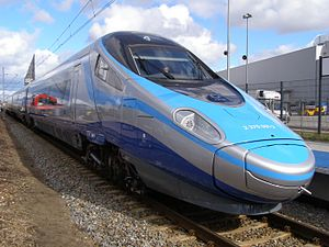 High-speed rail in Poland - A PKP Intercity ED250 Pendolino
