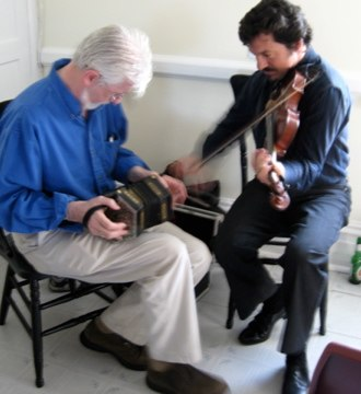 Anglo concertina - Image: Gearoid Pierre