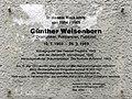 Gedenktafel Niedstr 25 (Fried) Günther Weisenborn.jpg