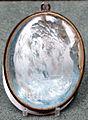 Gemma con busto di imperatore commodo, 190 dc, acquamarina da BNF collezione card gaspare carpegna.JPG