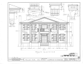 General Robert Lee Bullard House, U.S. Route 431 (State Route 37), Oak Bowery, Chambers County, AL HABS ALA,9-OKBO,1- (sheet 2 of 3).png