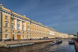 General Staff Building (Saint Petersburg) - Eastern Facade