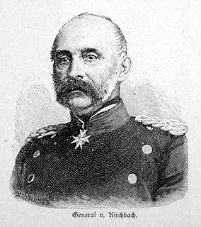 Hugo von Kirchbach German general