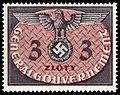 Generalgouvernement 1940 D14 Dienstmarke.jpg