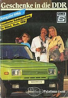 Von 1986 unten mit aufdruck des firmenlogos der palatinus gmbh
