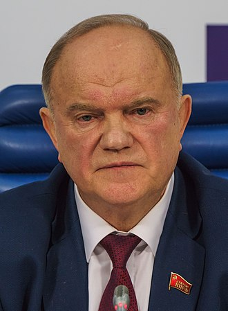 2012 Russian presidential election - Gennady Zyuganov