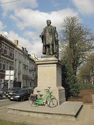 Joseph Guislain - Statue of Dr. Guislain in Ghent (Erected 1887).