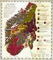 Geologisk Oversigtskart over det sydlige Norge (Kjerulf-Hauan).jpg