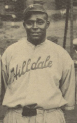 George Carr (baseball) - Carr at the 1924 Colored World Series