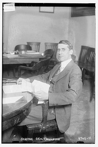 George F. Thompson - George F. Thompson in 1916