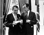 George H. W. Bush with Richard Nixon.jpg
