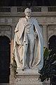 George Nathaniel Curzon - Marble Statue By Frederick William Pomeroy - Victoria Memorial Hall - Kolkata 2018-02-17 1308.JPG