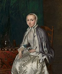 Portrait of Elisabeth Troost (1730-1790)