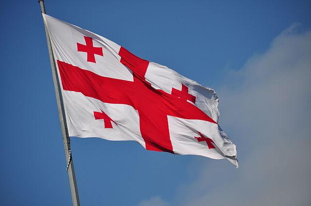 Flag of Georgia - Author Frank Miller from Washington, DC, United States