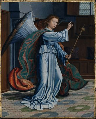 Gerard David - Angel Annunciation