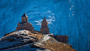 Gergeti Trinity Church - The Trinity Church of Gergeti