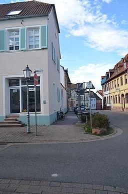 Marktstraße in Germersheim