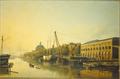 Gezicht langs de Nieuwe Vaart in Amsterdam Kasparus Karspen 1849.png