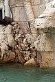 Gianlorenzo bernini, fontana dei fiumi, 1651, pianticelle 05.jpg