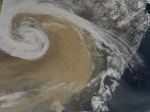 Asian brown cloud - Big Brown Cloud Storm over Asia