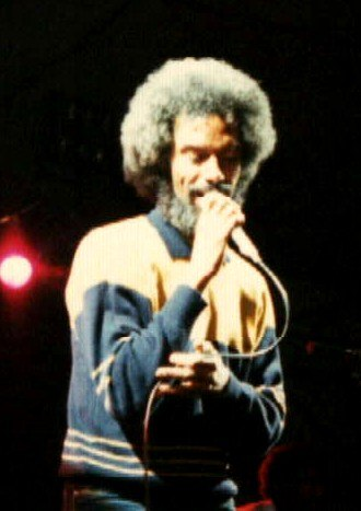 Gil Scott-Heron - Scott-Heron performing at WOMAD in Bristol, 1986