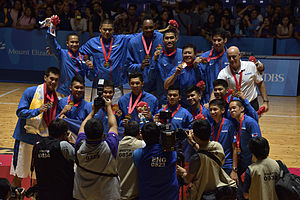 Philippines at the 2015 Southeast Asian Games - The Philippine men's national basketball team