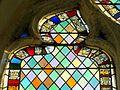 Gilocourt (60), église Saint-Martin, verrière n° 0, détail.JPG
