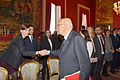 Giorgio Napolitano meets EUI Researchers (12770055134).jpg