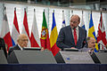 Giorgio Napolitano visite officielle Parlement européen de Strasbourg 4 février 2014 04.jpg