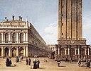 Джованни Антонио Каналетто - Teilansicht der Piazza San Marco in Venedig.jpg