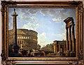 Giovanni paolo panini, capriccio romano, il colosseo e altri monumenti, 1735.jpg