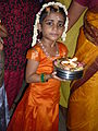 Girl with thalam.JPG