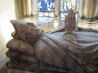 Walter de Merton - Tomb of Walter de Merton in Rochester Cathedral