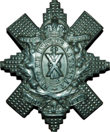 Badge des Glasgow Highlanders