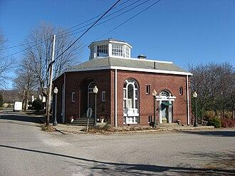 Glenford, Ohio - The former Glenford Bank, downtown