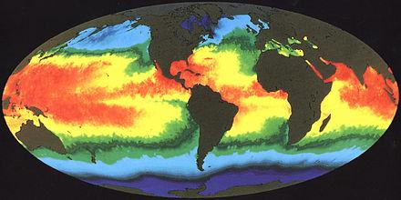 coas earths surface temperatures - HD2876×1440