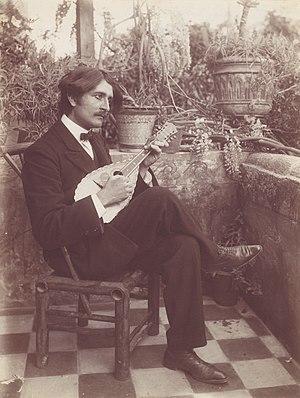 Guglielmo Plüschow - Wilhelm von Plüschow portrayed by his cousin Wilhelm von Gloeden (c. 1890)