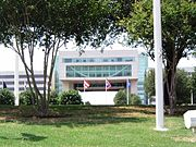 Electronic Data Systems headquarters in Plano, Texas.