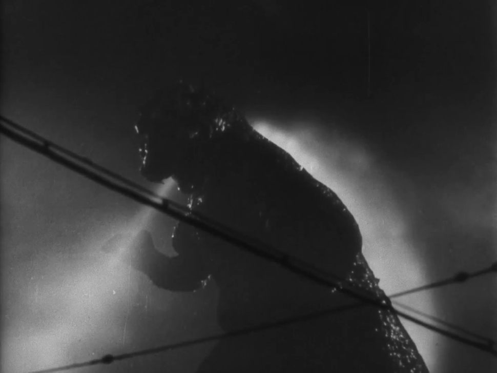 Godzilla King of the Monsters (1956) Atomic ray