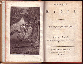 Johann Wolfgang Von Goethe Wikiwand