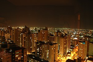 Goiânia - Goiânia at night.