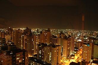 Goiânia - Goiânia at night.