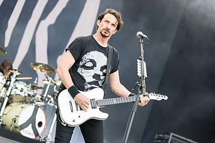 The death of Joe's (pictured) and Mario Duplantier's mother greatly affected Magma's recording process. Gojira - 2017155160131 2017-06-04 Rock am Ring - Sven - 1D X II - 0338 - AK8I9632.jpg