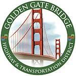 Golden Gate Bridge District Logo