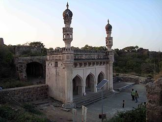 Golkonda - Mosque  of Ibrahim