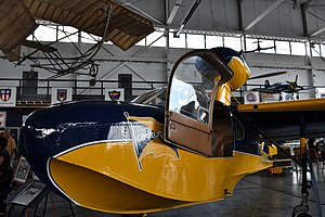 Goodyear Duck - Goodyear GA-22A Drake on display at the MAPS Air Museum in Canton, Ohio.