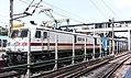 Gorakhpur bound Yesvanthpur Express undergoing a loco change at Secunderabad.jpg